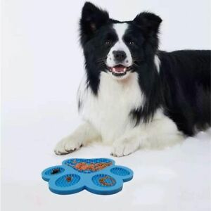 With Suction Cups Dog Lick Pad Food Holder Plate Slow Feeder Food Treater Mat