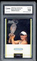 2005 Maria Sharapova Ace Authentic Tennis Rookie  Gem Mint 10 #MS46