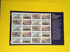 Scott #4548-51 (2011) USPS FOREVER MERCHANT MARINE  MNH Sheet of 20