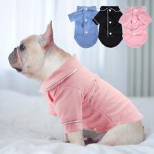 Small Dog Pajamas Soft Cotton Pyjamas Cat Puppy Pet Clothes Dressing Gown Shirt