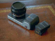 original Blackmagic Pocket Cinema Camera bmpcc Lumix 20mm f1.7