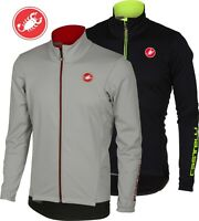 Castelli Senza 2 Men's Windstoppper Cycling Jacket Size Large Two Awesome Colors