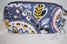 Vera Bradley Medium Cosmetic Charmont Meadow Makeup Case Bag