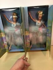 Ballet Masquerade Barbie Set Lot of 2 #29385