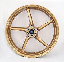 Front Wheel Rim For Triumph Street Triple 675 2008-09 Daytona 675 2006-2010 Gold