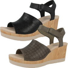 Clarks Cammy Glory Women Sandalen Damen Keil Sandaletten Sommer Schuhe Wedge