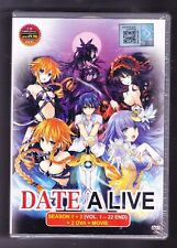 *NEW* DATE A LIVE SEASON 1& 2 *22 EPS/2 OVA/MOVIE*ENG DUB*US SELLER*ANIME DVD*