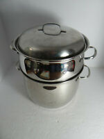 Belgique Stock Pot Steamer 8 Quart with Lid