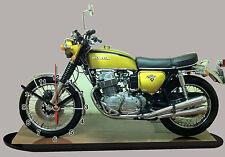 MODEL CARS, MOTO, BIKE, HONDA 750 FOUR-01 with Clock,11,8x 7,8 inches,