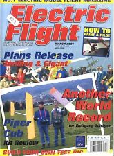 ELECTRIC FLIGHT MAGAZINE 2001 MAR ZWILLING & GIGANT, BRISTOL BEAUFIGHTER, MIRAGE