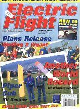 ELECTRIC FLIGHT MAGAZINE 2001 MAR ZWILLING & GIGANT, BRISTOL BEAUFIGHTER, MIRAGE