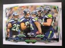 2014 Topps Seattle SEAHAWKS Team Set (17c)
