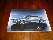 Mercedes Benz CL clase folleto 12/2012