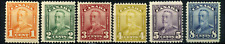 Canada #149-154 mint F/VF OG NH/HR 1928-1929 King George V Scroll Issue Part Set
