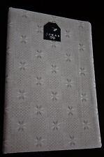 natural authentic vintage lithuanian 54%cotton/46%linen flex tablecloth