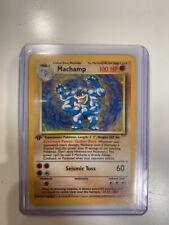 MACHAMP - Base Set - 8/102 - HOLO Rare - Pokémon Card - FIRST Edition - FAIR