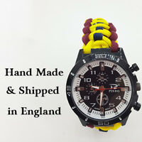 Paracord Watch with Royal Army Medical Corps (RAMC) a Great Gift