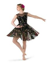 Tap, Jazz, Lyrical, Ballet Recital or Competitive Dance Costume, Adult SM, NWOT