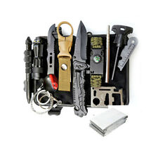 Outdoor Survival Kit for Emergency Hunting Camping Aid box SOS Supplies