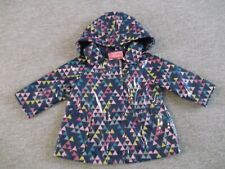 Next Triangles Theme Lined Raincoat / Mac Age 6-9 months Baby Girl's