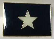 BONNIE BLUE CONFEDERATE FLAG LAPEL PIN HAT TAC NEW