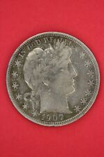 1907 D Barber Liberty Half Dollar Exact Coin Pictured Flat Rate Shipping OCE 93