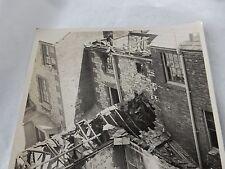 IOW  RYDE BOMB DAMAGE   WW2    PRESS PHOTO
