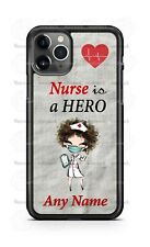 Nurse is a Hero Customize Phone Case For iPhone Samsung S20 LG Google 4