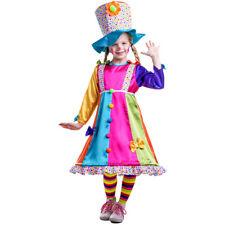 Dress Up America Girl's Polka Dot Clown Costume