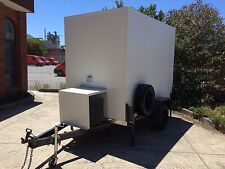 . 9 X 5 Foot Mobile Trailer - Portable Walk In Cool Room