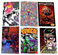 "Tower Records Advertising Postcards  Modern 1990's 6""X4.25"" (Lot of 6) Free Ship"