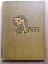 1944 PARIS HIGH SCHOOL YEARBOOK, THE ARENA, PARIS, IL