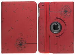 360 Rotating PU Leather Stand Case Cover For APPLE iPad 4 3 2 iPad Mini iPad Air