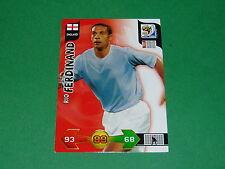 FERDINAND ENGLAND  PANINI FOOTBALL FIFA WORLD CUP 2010 CARD ADRENALYN XL