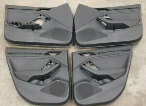 AUDI RS3 A3 S3 8V 2013-2020 SALOON SEDAN LHD STANDARD LEATHER DOOR CARDS SET