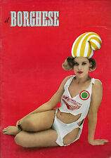 """"""" IL BORGHESE N°34 / 25/AGO/1966 """" Periodico Settimanale Politico e Culturale"""