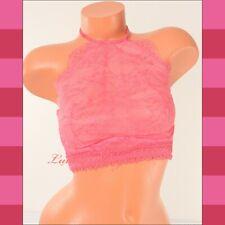 VS VICTORIA'S SECRET Very Sexy High-Neck Bralette Underwire Lace Bra 36D Pink