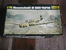MESSERSCHMITT BF 108B TAIFUN 1/72 HELLER PLASTIC MODEL KIT