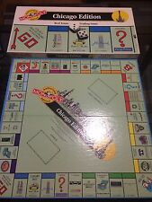 MONOPOLY REAL ESTATE TRADING GAME - CHICAGO EDITION 1995