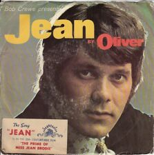 Bob Crewe Presents Jean by Oliver DJ Crellie Label (PS) 45-rpm Record VG+ Vinyl