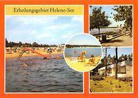 AK, Frankfurt Oder, Erholungsgebiet Helene-See, vier Abb., 1986
