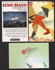 Roxy & Quicksilver Postcard Flyer Exhibition Film Music Art Photography original