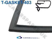 T6-GASKET-403 INOMAK COMMERCIAL FRIDGE / FREEZER GREY MAGNETIC DOOR SEAL GASKET