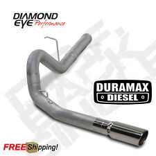 Diamond Eye 4 Inch DPF-Back Exhaust 2011-2012 GMC Sierra 6.6L Duramax Diesel