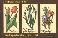 DDR SMHD44 (kompl.Ausg.) postfrisch 1988 Frühlingsblumen