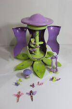 Disney Magical Music Tinkerbell Fairy Mushroom Doll tree House furniture Fairies