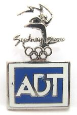 ADT LOGO SECURITY SUPPORTER SYDNEY OLYMPIC GAMES 2000 PIN BADGE COLLECT #164