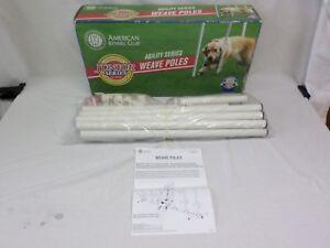 AKC American Kennel Club Dog Training Agility Series Weave Poles [ Brand New ]