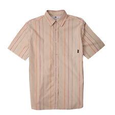 Fourstar Boys Short Sleeve Matsui Shirt Striped Cream Age 8-9 years