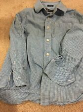 Crew Cuts SetI Of 2 Boys Dress Shirts Sz 6:7 Euc